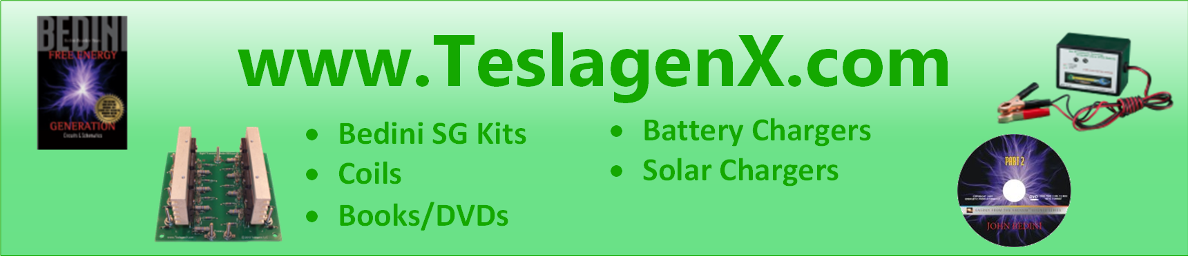 TeslagenX, Inc. - http://www.teslagenx.com